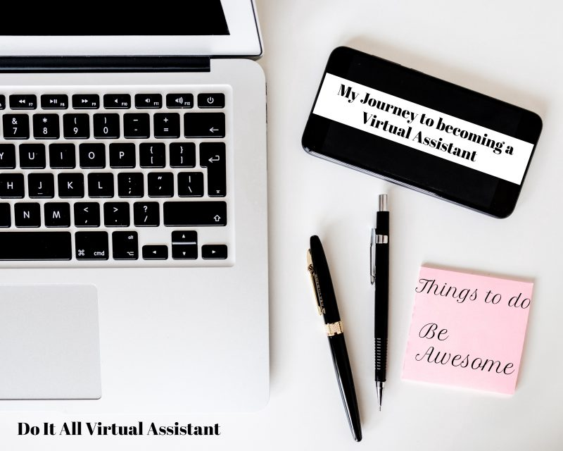 My Journey to Becoming a Virtual Assistant