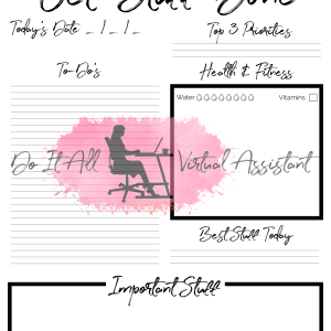 get stuff done to do list printable